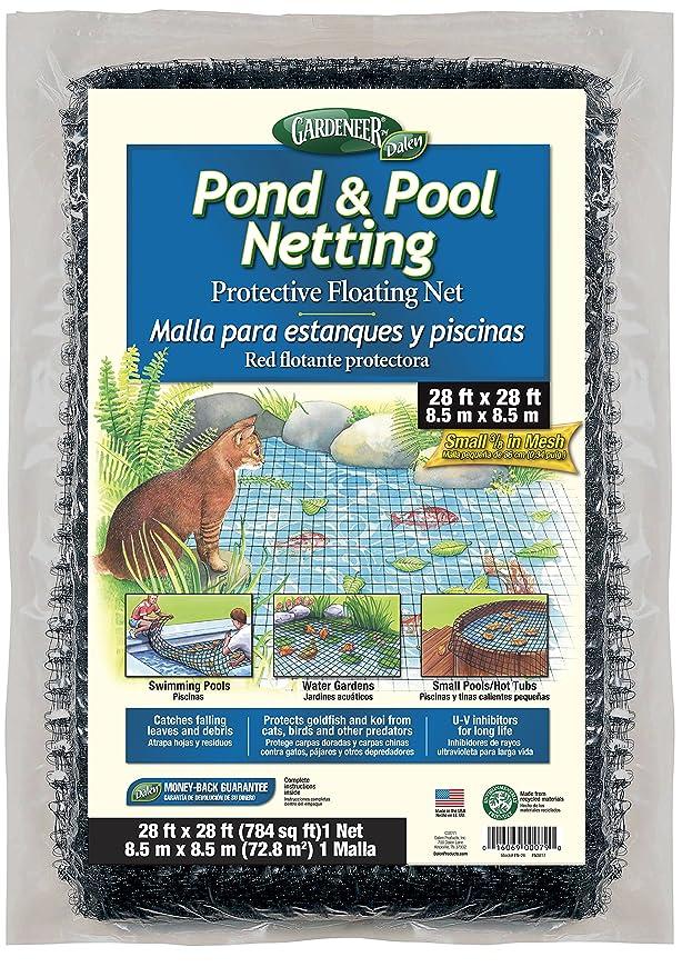 Amazon.com : Dalen PN28 Pond Netting 28-Feet by 28-Feet 3/8-Inch Mesh(2Pack) : Garden & Outdoor