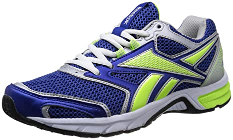 Reebok Pheehan Run 2.0 TX - Zapatillas de running para hombre, Royal/Yellow/