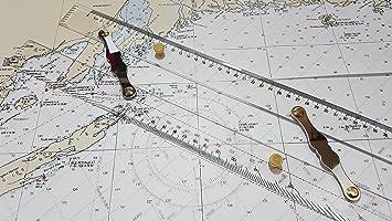 Ferocious Viking Products Regla paralela para la navegación ...