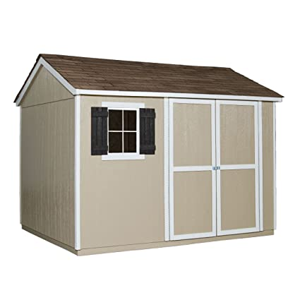 Delicieux Handy Home Products Avondale Wooden Storage Shed With Floor, 10 By 8 Feet