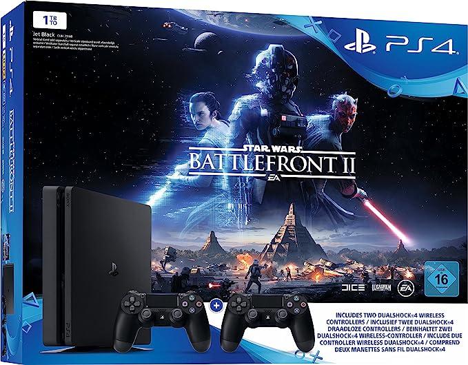 Sony Playstation 4 Slim 1TB Incl. Star Wars Battlefront 2: Amazon.es: Electrónica