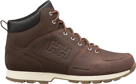 Helly Hansen Tsuga, Chaussures de Randonnée Hautes Homme, Noir (Jet Black/Charcoal/Jet 991), 45 EU