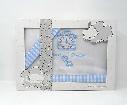 Interbaby set di lenzuola invernali in pile per culla con