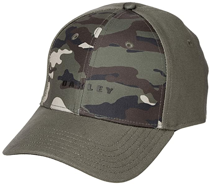 Oakley Men s 6 Panel Camou + Solid Hat at Amazon Men s Clothing store  caa6ec24e209