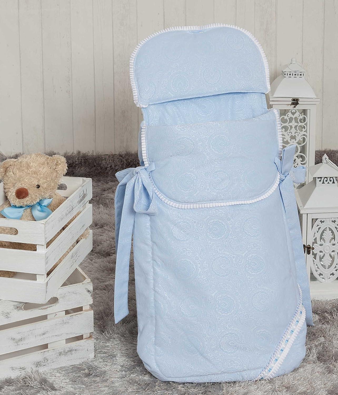 Saco de 3 usos para capazo y silla Babyline Bomb/ón color beige