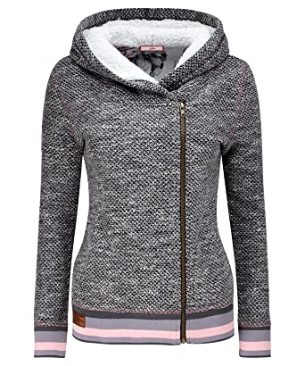 Joe Browns Women s Zip Up Hoodie With Fleece Lining (8)  Amazon.co ... 0392c5a62e