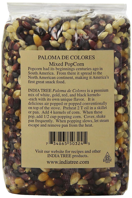 Amazon.com: India Tree Paloma de Colores(Mixed) PopCorn, 16 oz ...