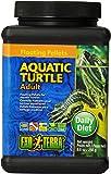 Exo Terra Floating Pellets Adult/Aquatic Turtle Food, 250 g