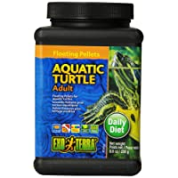 Exo Terra Floating Pellets Adult/Aquatic Turtle Food, 250 g