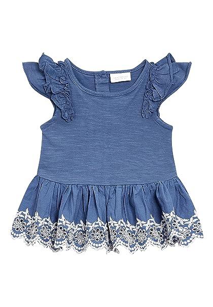 next Bebé-Niñas Blusa con Adornos (0 Meses - 2 Años) Azul 1.5
