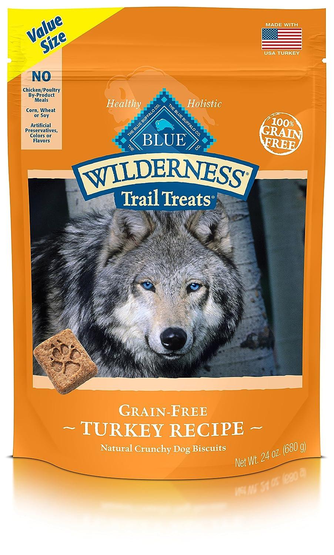 BLUE Wilderness Trail Treats Grain-Free Turkey Biscuits Dog Treats