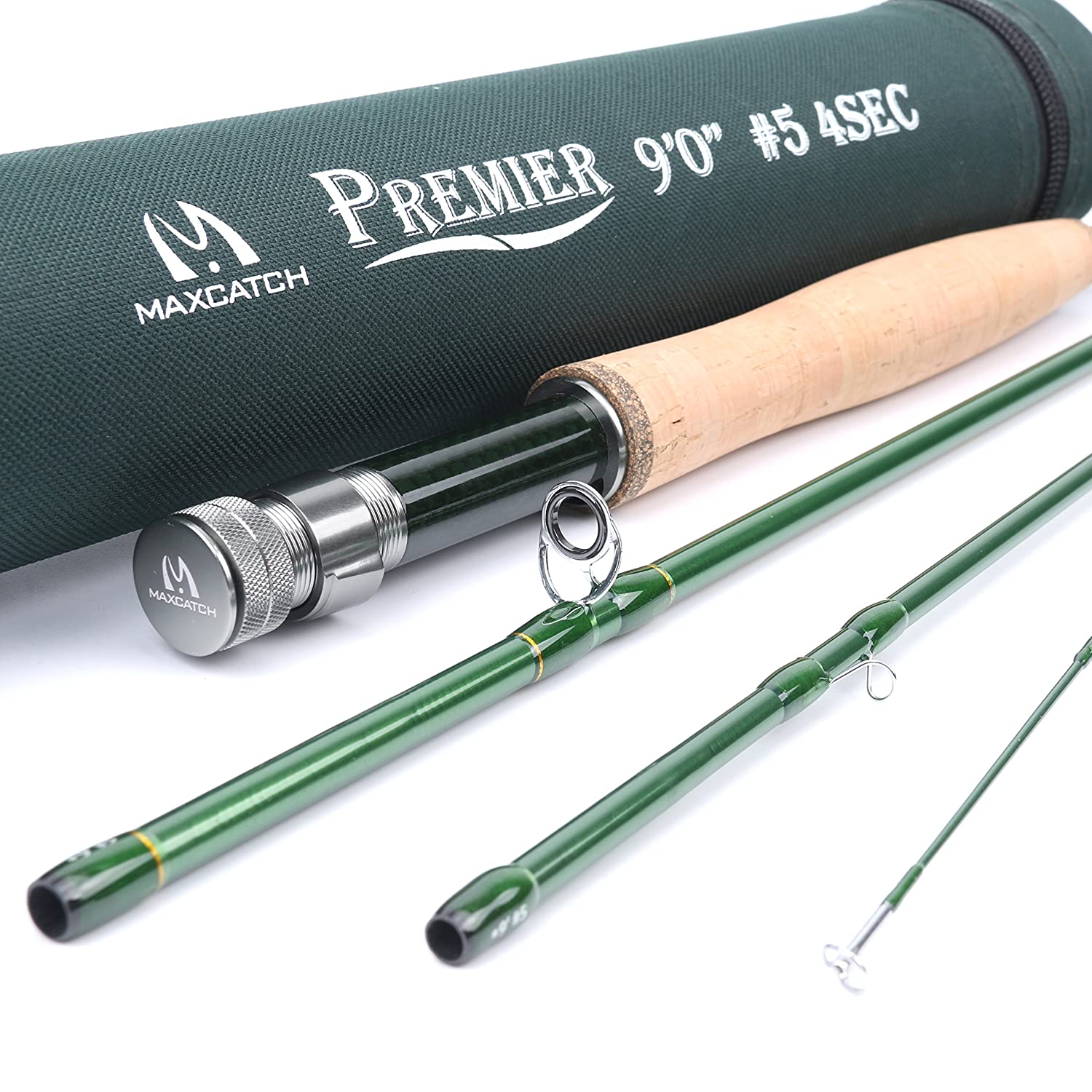 M MAXIMUMCATCH Medium-flex Action Fly Rod