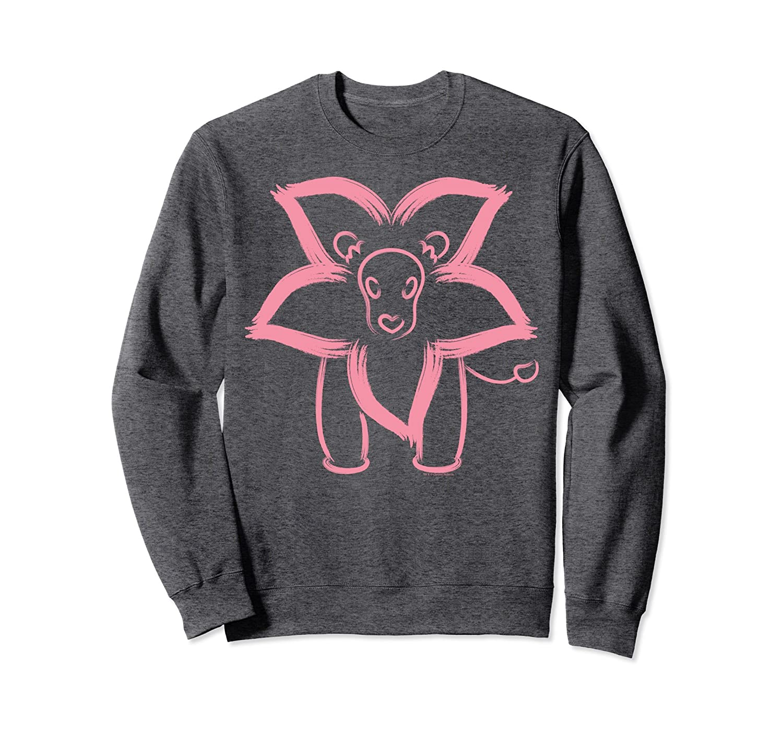 CN Steven Universe Flower Lion Outline Graphic Sweatshirt-fa