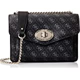 GUESS Womens Convertible Crossbody Bag, Coal - SG743721