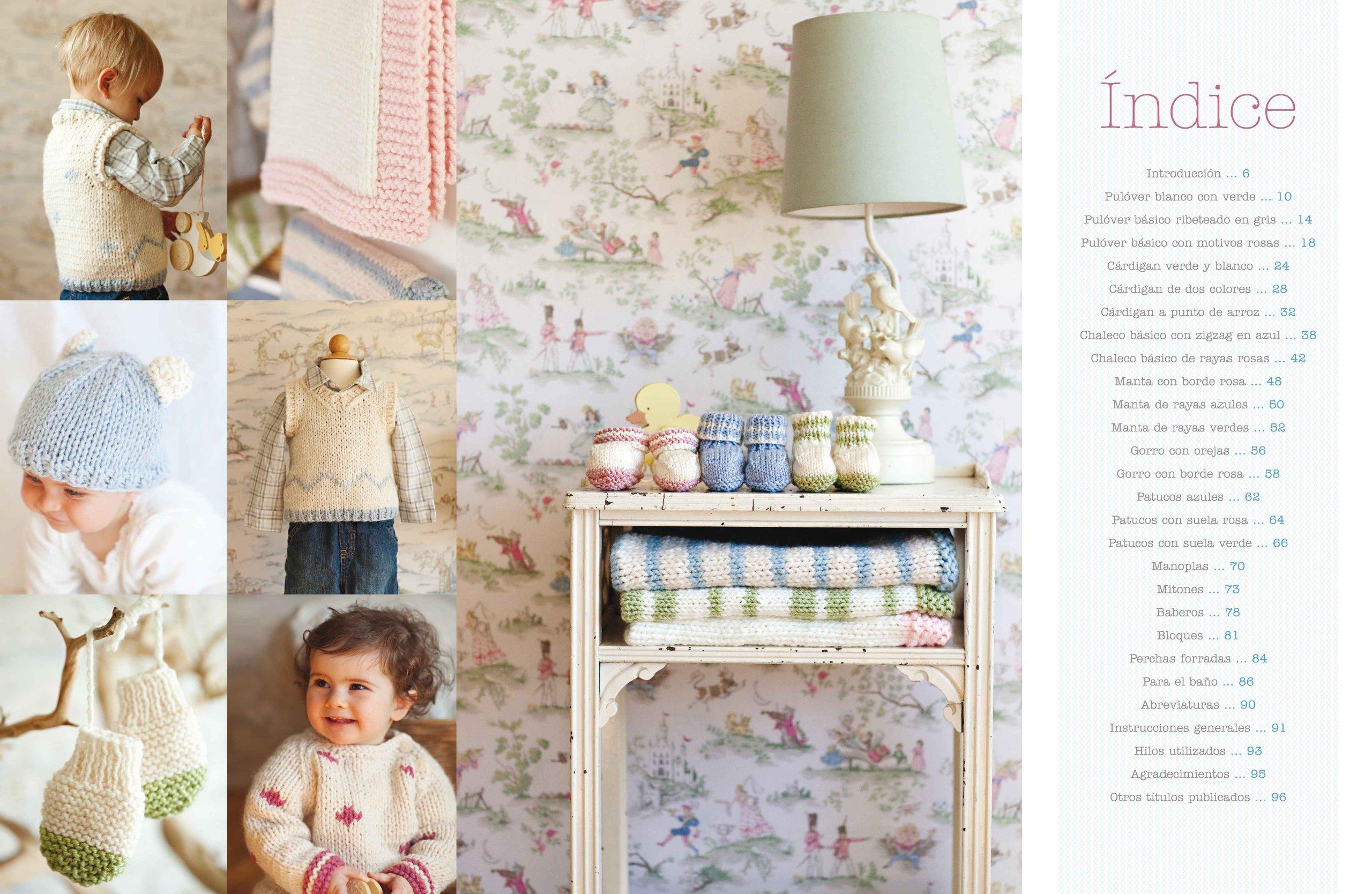 Punto Para Bebés. 20 Proyectos Fáciles Y Rápidos El Libro De ...
