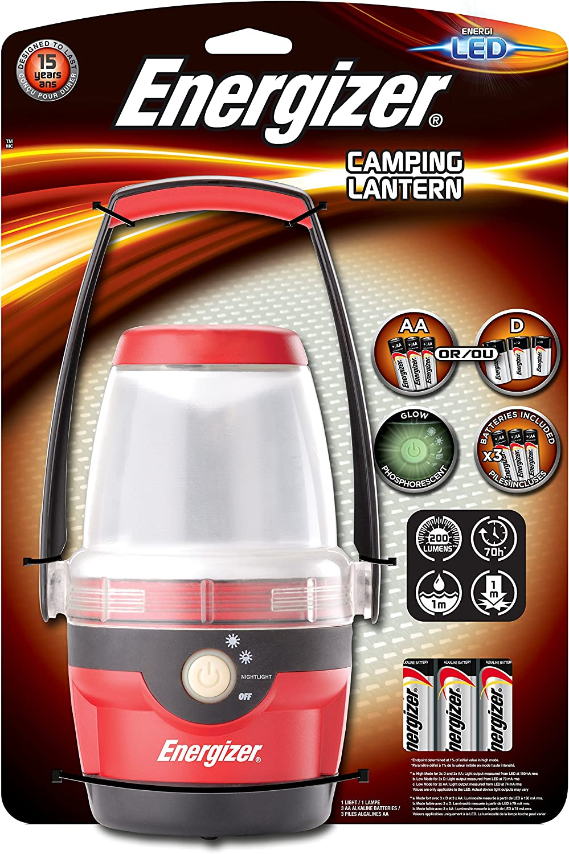 Energizer Camping Light Linterna Negro y rojo