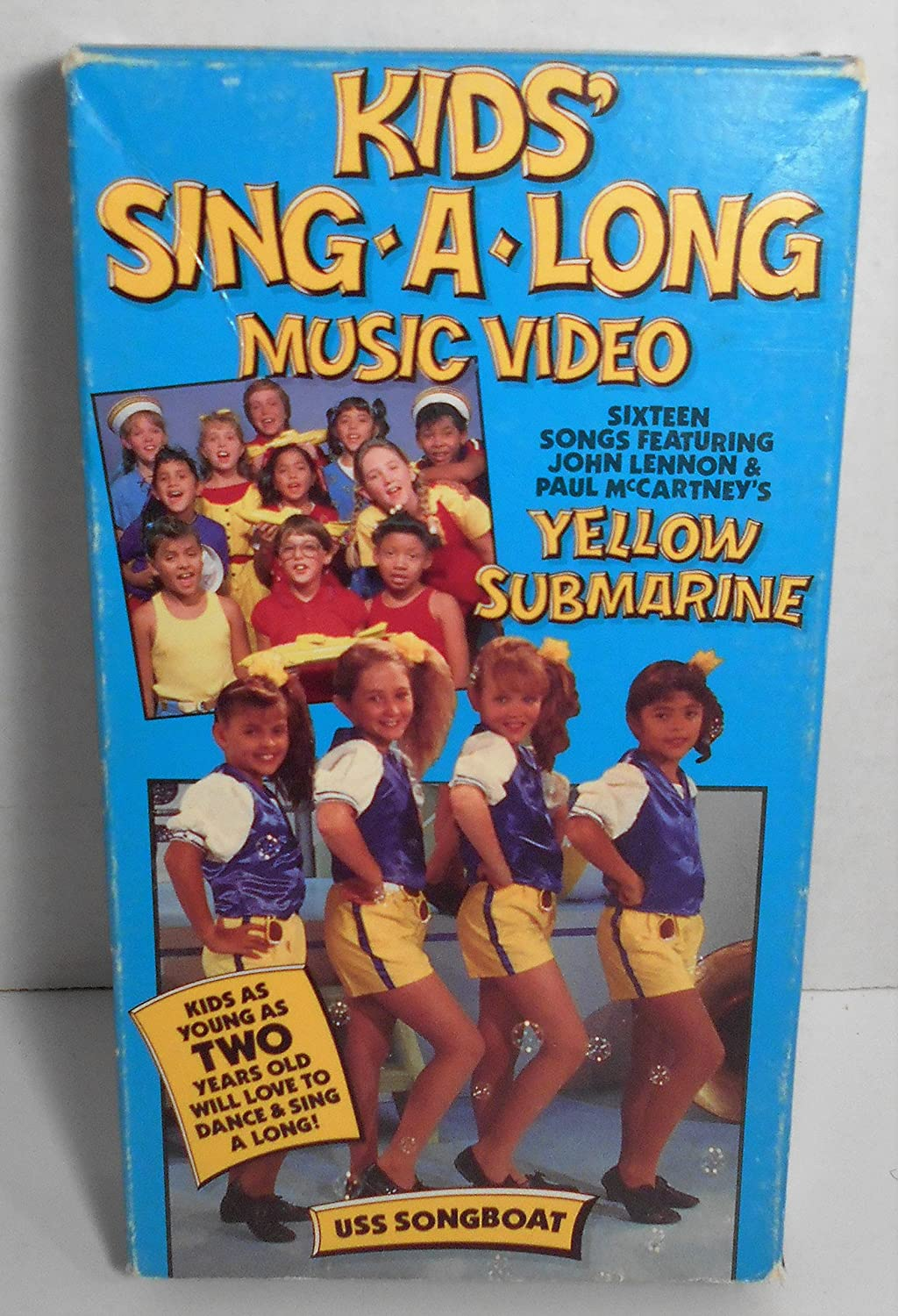Amazon Kids Sing A LongUss Songboat VHS Movies TV