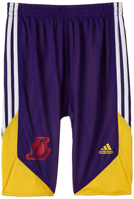 adidas Winter Hoops Reversible - Pantalones cortos de baloncesto para niño, color morado, talla Size 164 F88202164