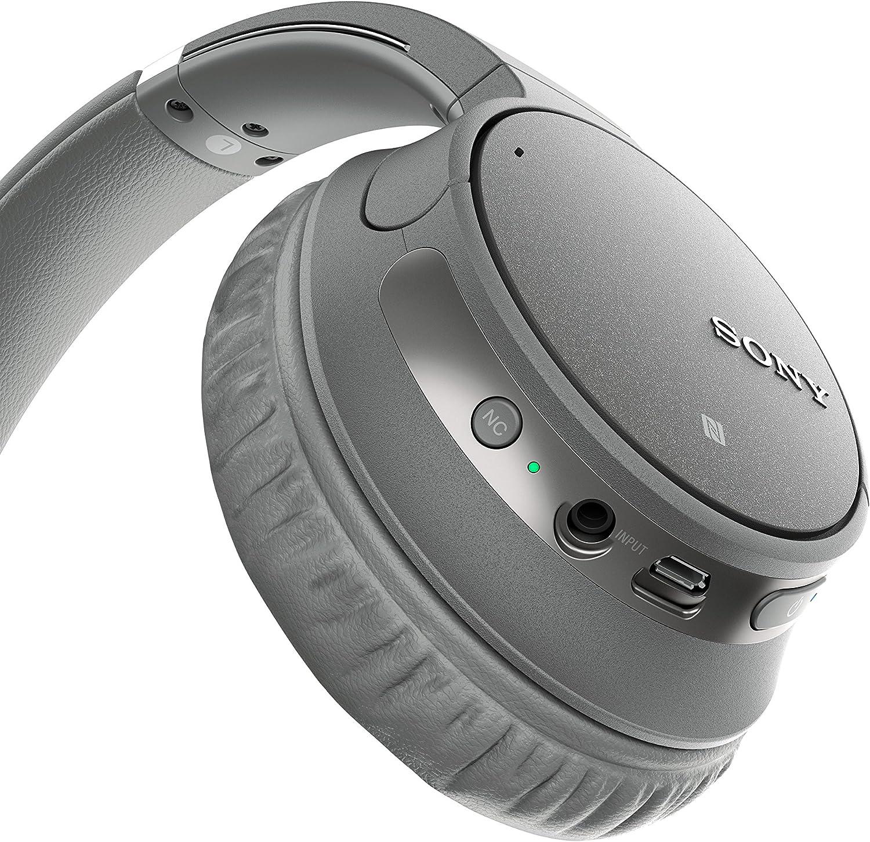 Sony WH CH700N kabelloser Noise Cancelling Kopfhörer (Bluetooth, bis zu 35 Stunden Akku, Schnelladefunktion, NFC, Amazon Alexa, Headset mit Mikrofon