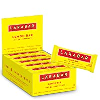 Deals on 16-Pack Larabar Gluten Free Lemon Dairy Free Snacks 1.6 Ounce