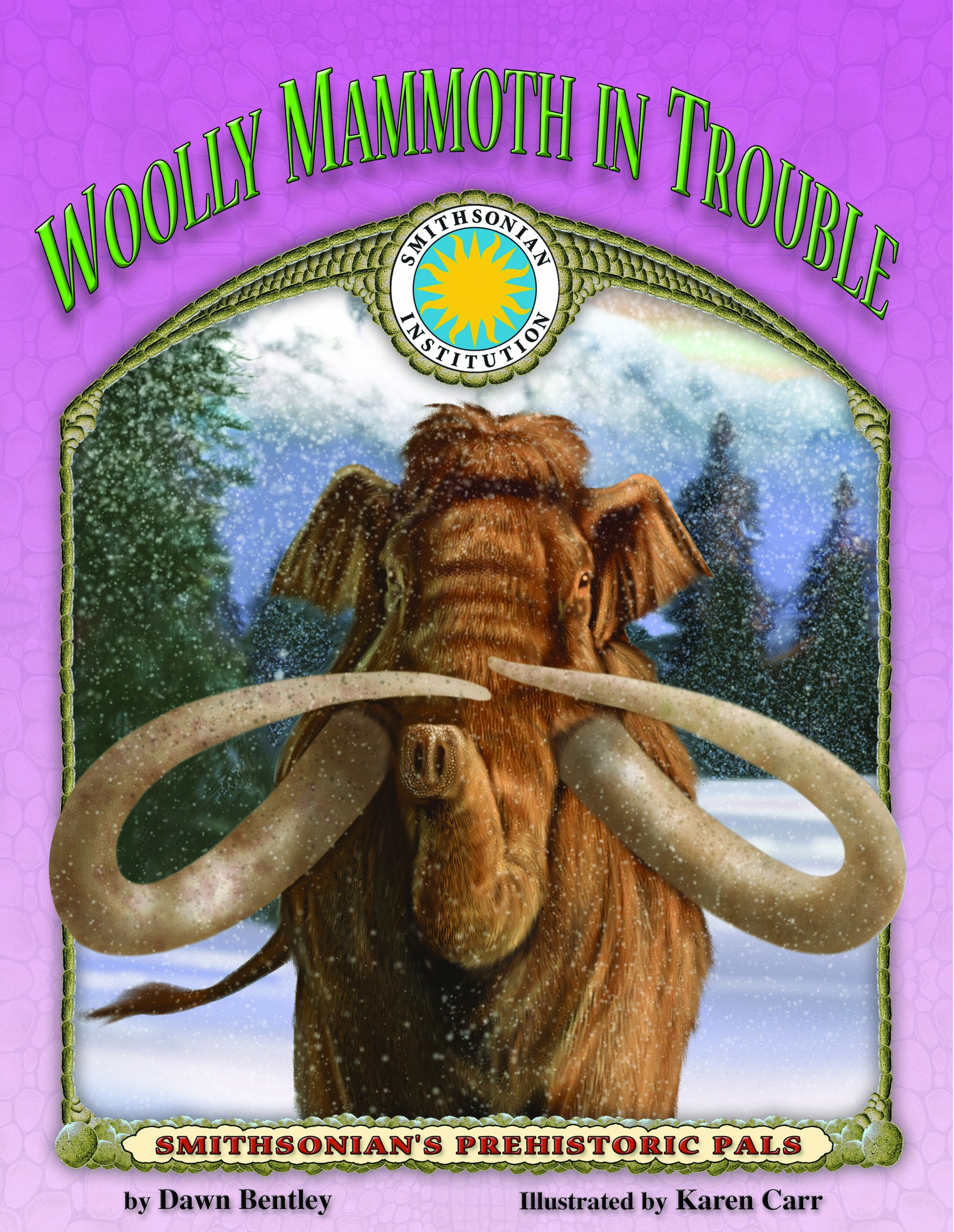 Wooly Mammoth in Trouble - a Smithsonian Prehistoric Pals Book (with Audiobook CD and poster) (SMITHSONIAN'S PREHISTORIC PALS)