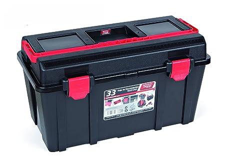Tayg 133008 Caja Herramientas Plástico Negro 480 X 258 X 255 Mm