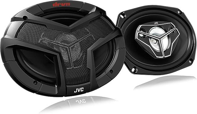 Jvc Cs V6948u Koaxial Lautsprecher Schwarz Elektronik