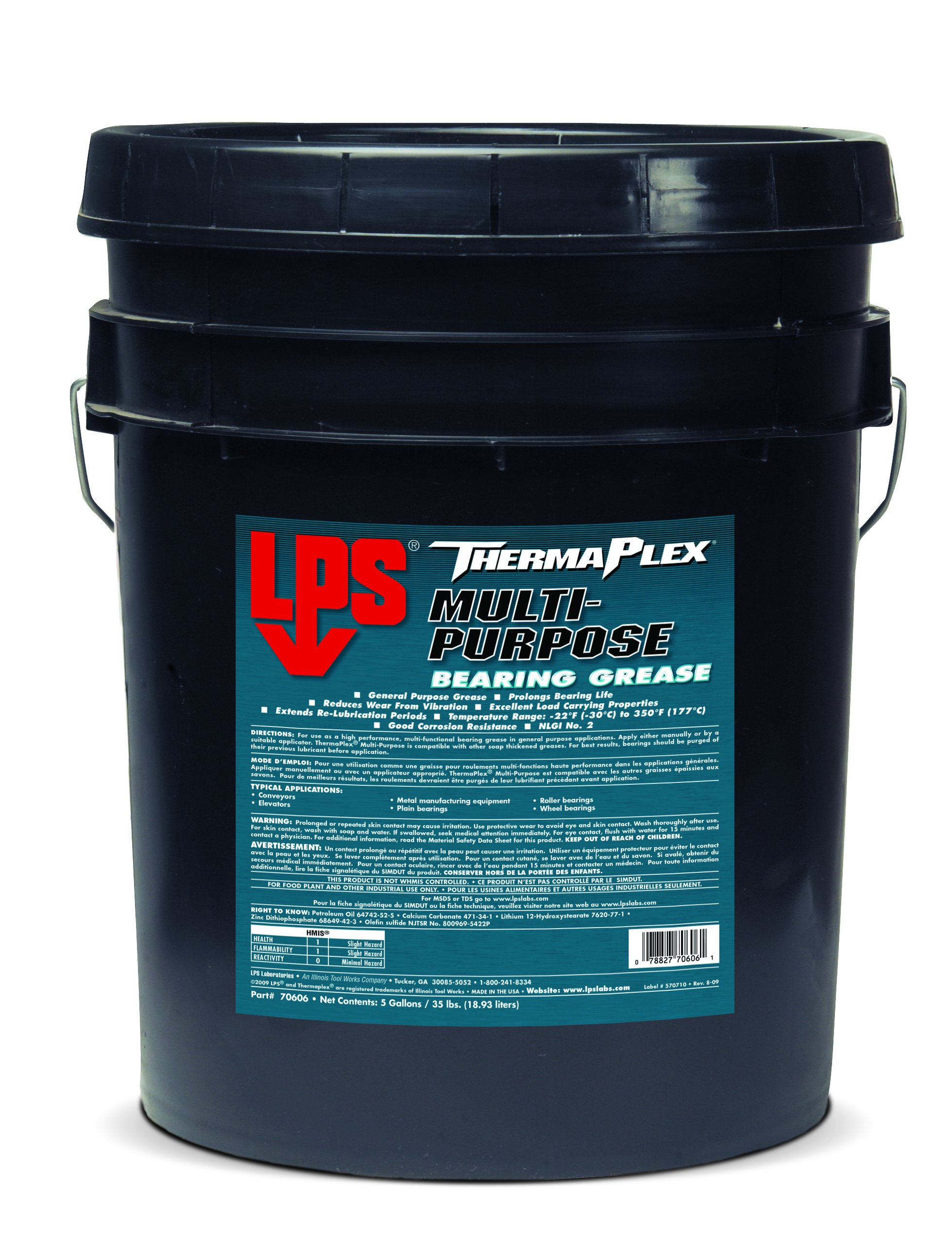 LPS ThermaPlex Multi-Purpose Bearing Grease, 35 lbs