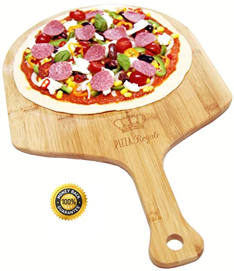 Pizza Royale Natural Bamboo Pizza Peel Review