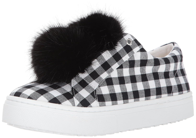 Sam Edelman Women's Leya Fashion Sneaker B06XC8JPBQ 11 B(M) US|Black/White Gingham Print