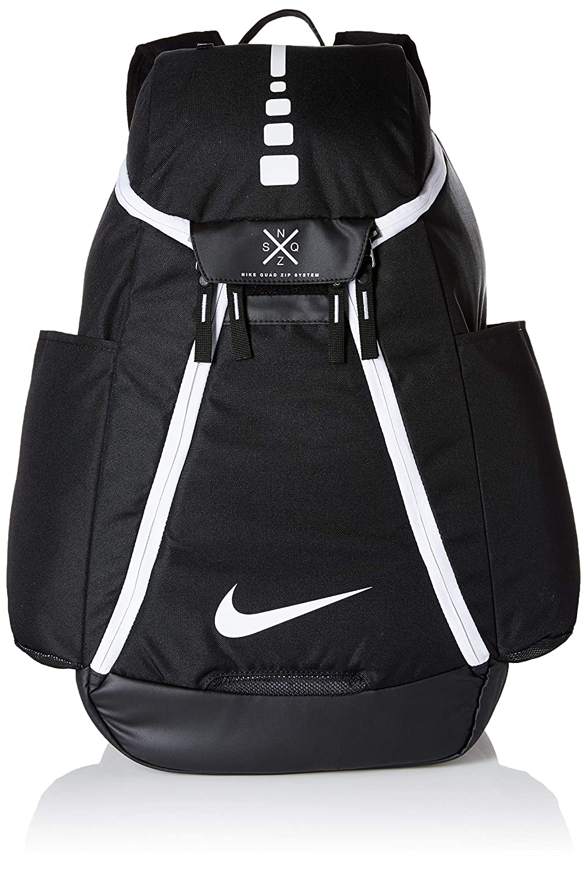 Nike Hoops Elite MAX Air Team Mochila, Hombre, Negro, Blanco ...