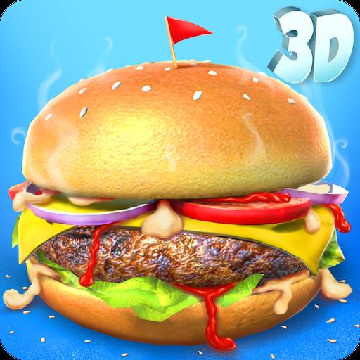 Tienda 3D Burger Maker: Juegos Kids Lunch Maker GRATIS: Amazon.es: Appstore para Android