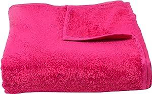 PRO Microfiber Bath Sheet Yoga Mat Towel, Fuchsia