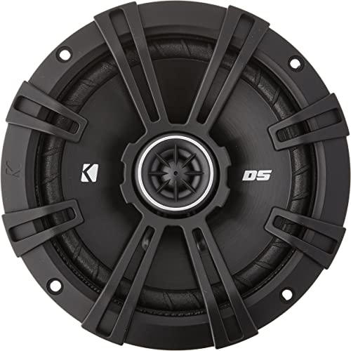 Kicker DSC650 DS Series 6.5 4-Ohm Coaxial Speakers
