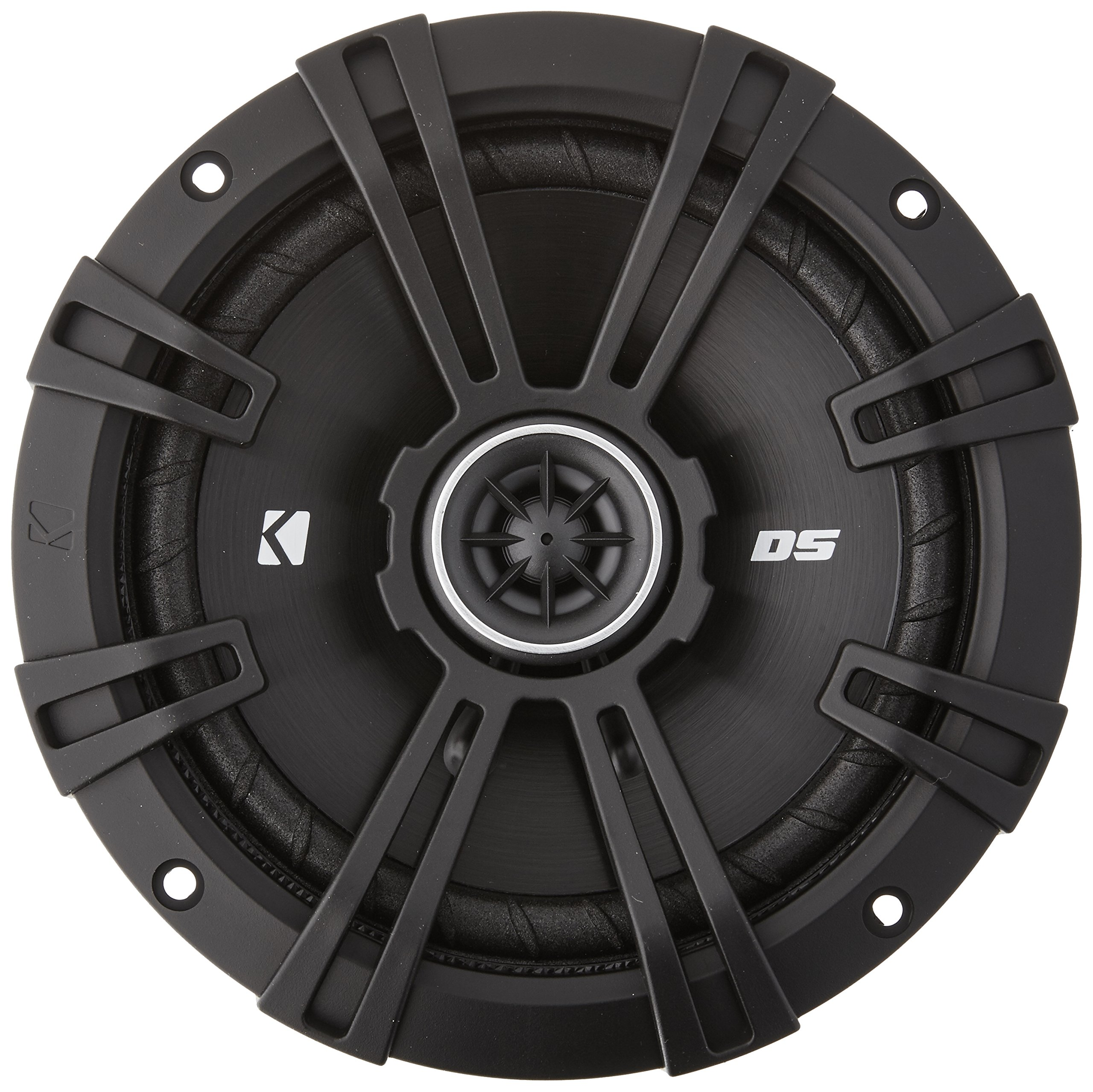 2) Kicker 43DSC6504 6.5'' 240 Watt 2-Way 4-Ohm Car Audio Coaxial Speakers DSC6504