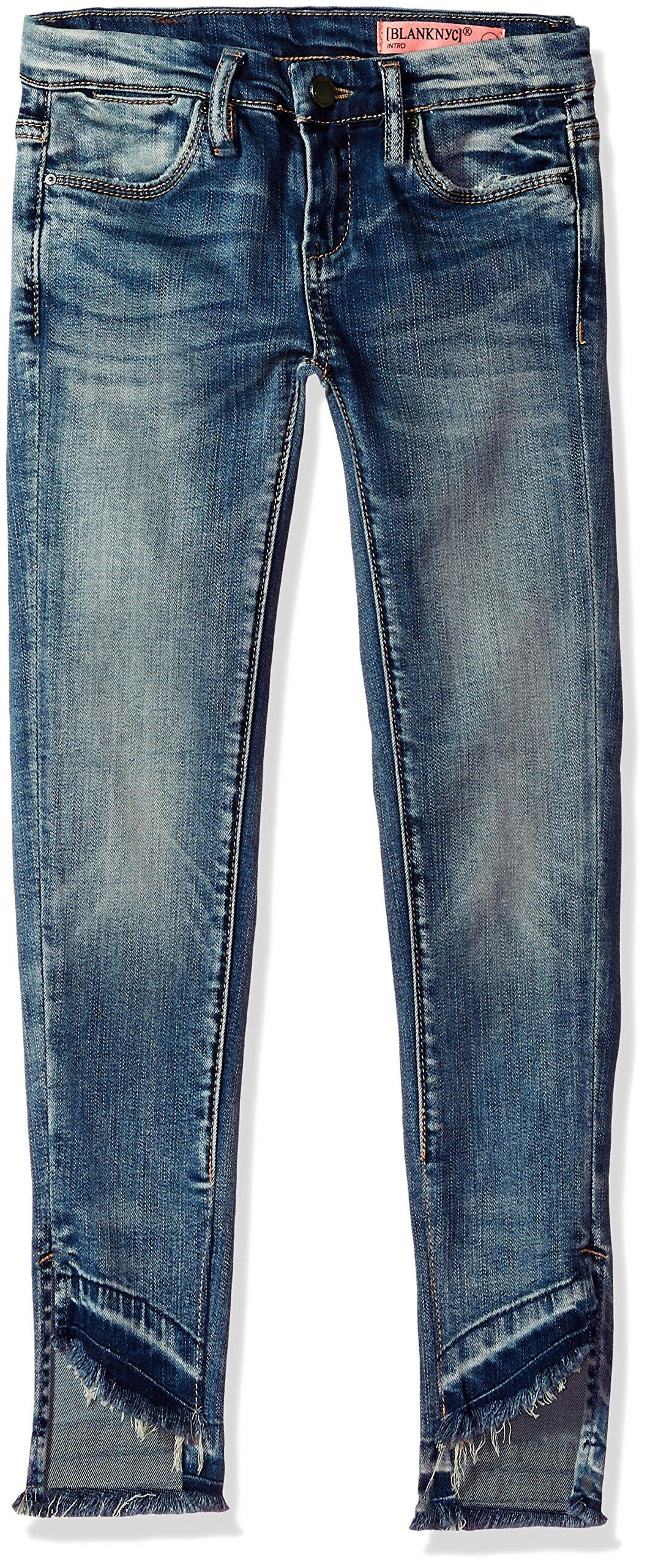[BLANKNYC] Big Girl's Distressed Relaxed Skinny Pants, Fitz of Rage, 7 by [BLANKNYC] (Image #1)