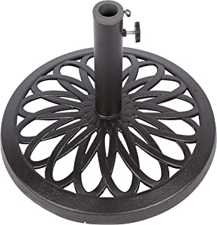 Tropishade 30 Pound Bronze Powder Coated Cast Iron Umbrella Stand