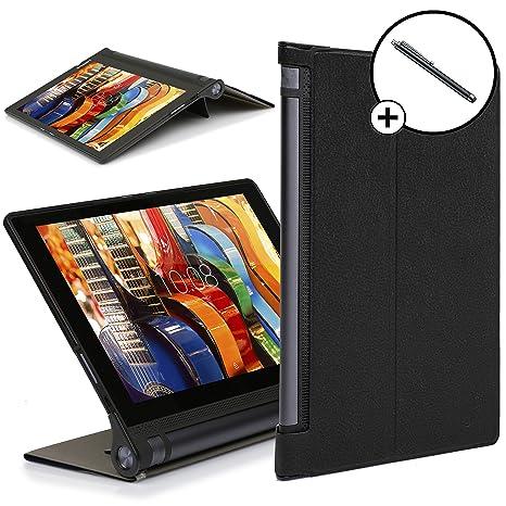 Forefront Cases® Lenovo Yoga Tab 3 Plus Funda Carcasa Stand Case Cover Protectora Plegable – Ultra Delgado Ligera y Protección Completa del ...