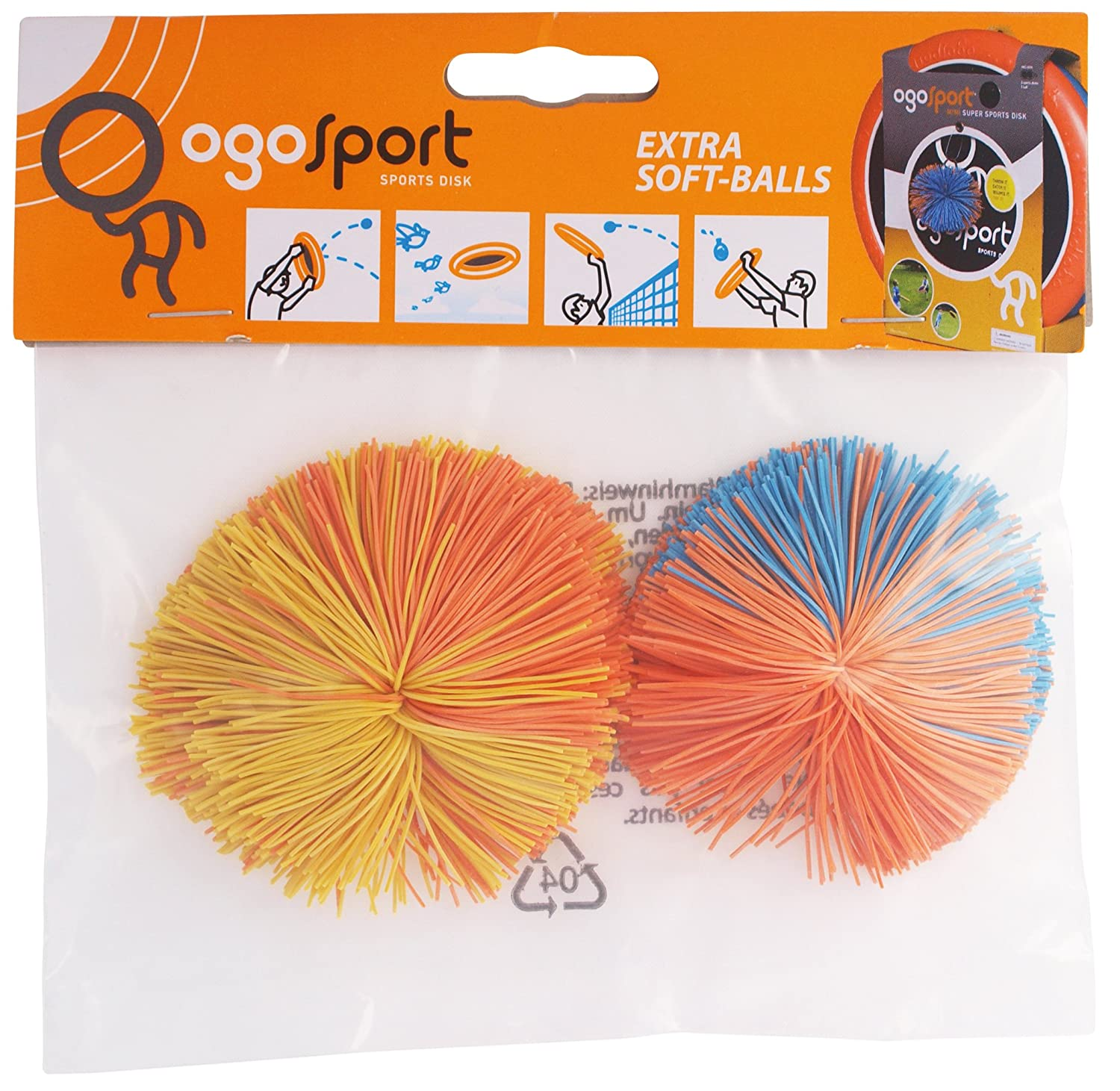 Ogo Sports Replacement Balls Pack of 2 Ogo Sport Spareballs 2 pcs.