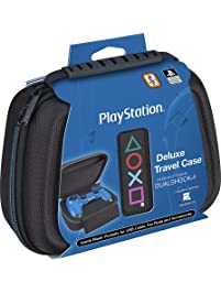 Sony PlayStation 4 Controller Case – Protective Deluxe Travel Case – Black Ballistic Nylon Exterior – Official Sony...