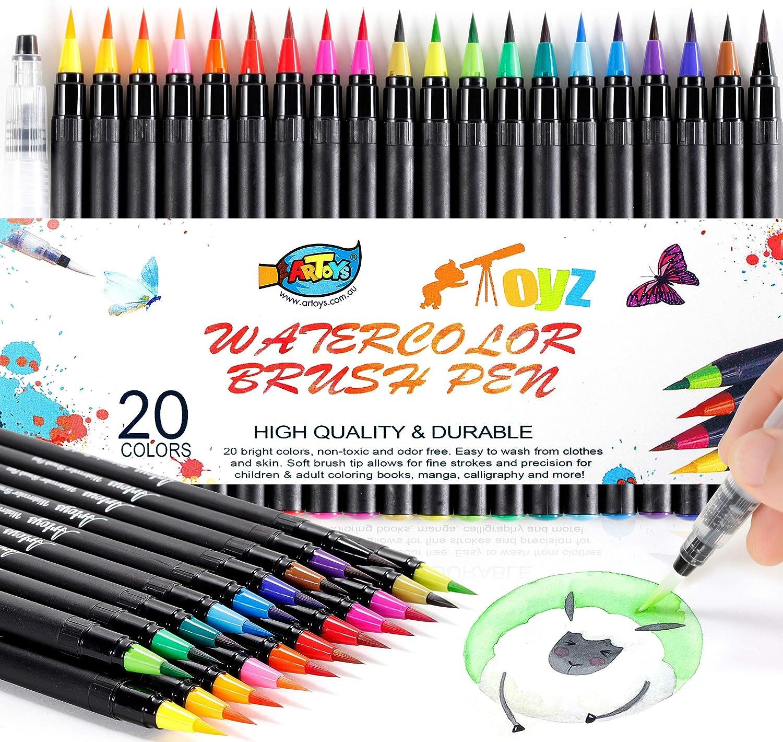 Tools Art Supplies Kids Graffiti Drawing Toys Watercolor Pen Painting Brush