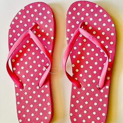 Chanclas para mujer, sandalias de playa, uso diario, zapatillas, color Rosa, talla Medium: Amazon.es: Zapatos y complementos