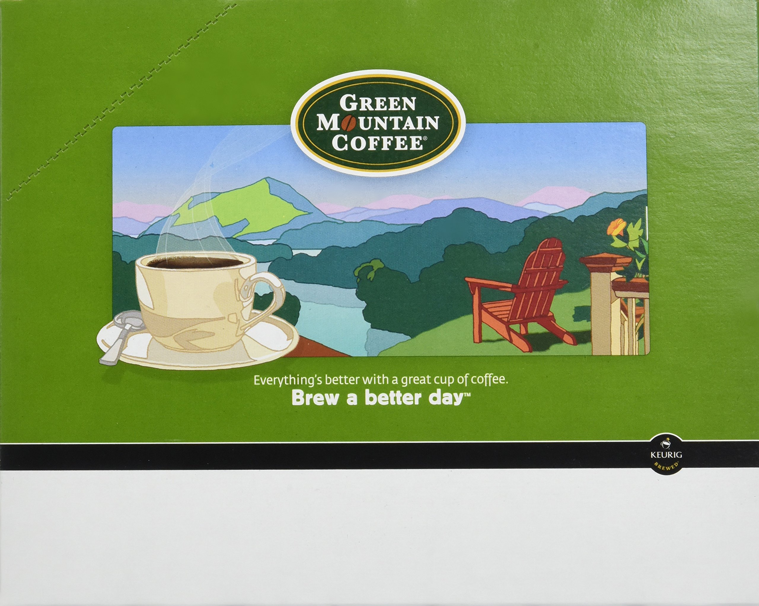 Green Mountain Coffee Fair Trade Golden French Toast K-Cup (96 count) by Green Mountain Coffee