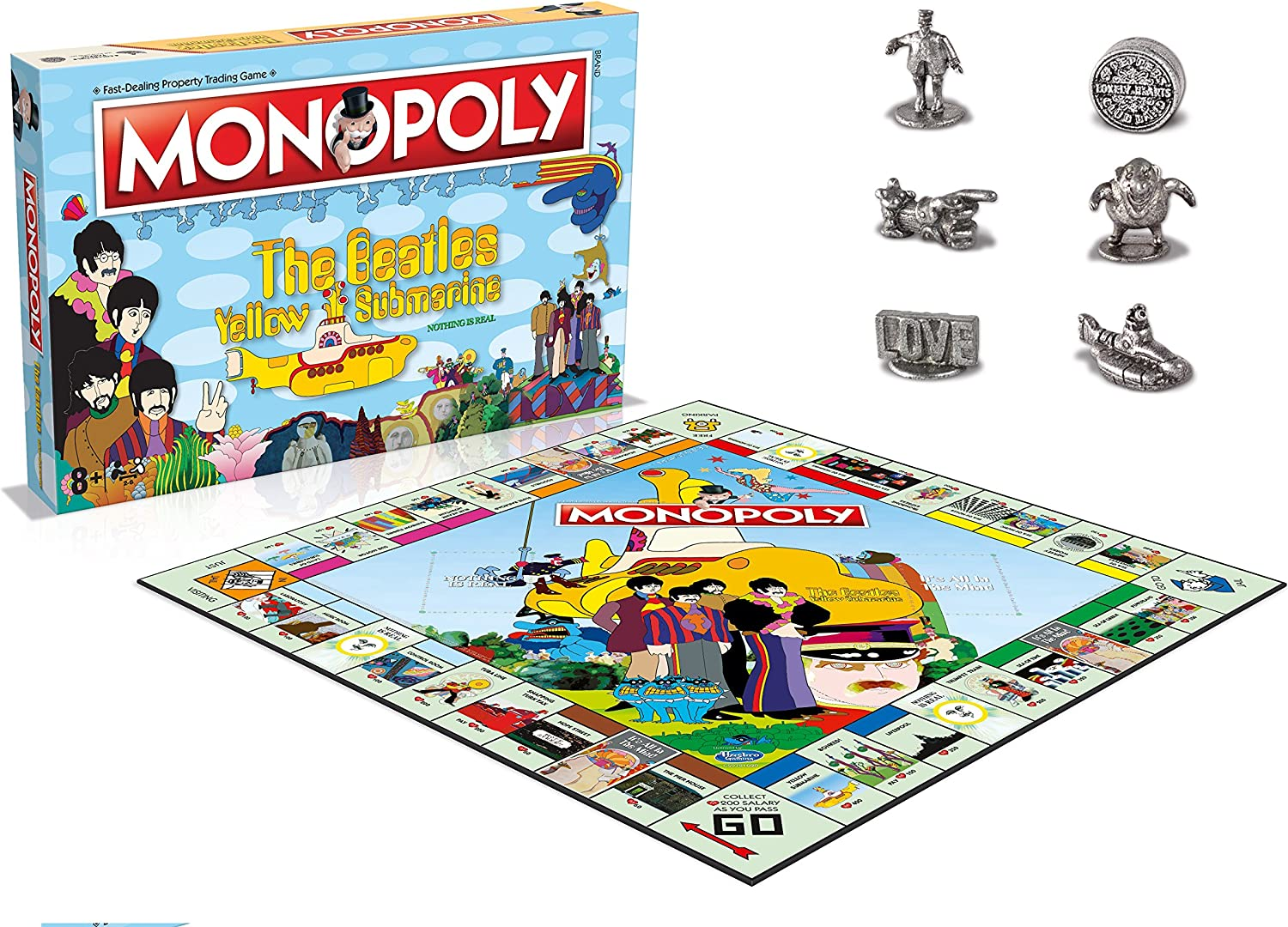 Winning Moves Beatles (The) Yellow Submarine - Monopoly Board Game Merchandising: Amazon.es: Juguetes y juegos