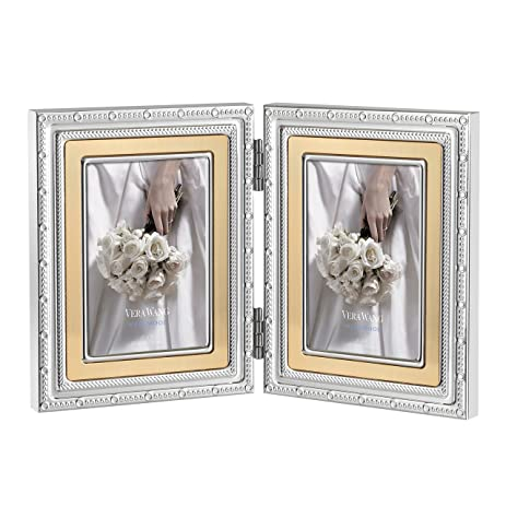 Amazon.com - Wedgwood Vera Wang with Love Folding Frame, 2 by 3-Inch ...
