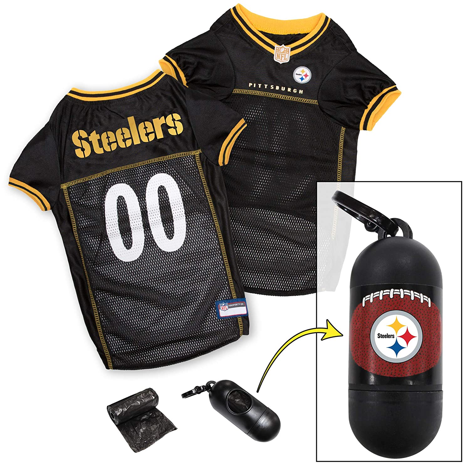 huge selection of e0b4e 21107 NFL PET Jersey. Most Comfortable Football Licensed Dog Jersey. 32 NFL Teams  Available in 7 Sizes. Football Jersey for Dogs, Cats & Animals. - Sports ...