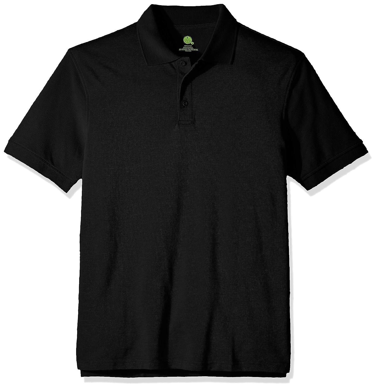 Classroom School Uniforms Real School Unisex Short SLV Pique Polo