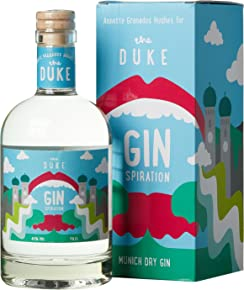 The Duke Dry Gin - Kunstedition  - Magic Munich Edition Ginspiration mit Geschenkverpackung (1 x 0.7 l)