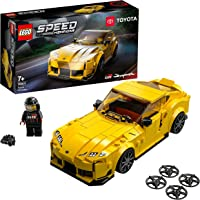LEGO 76901 Speed Champions Toyota GR Supra Collectible Sports Car Toy Building Set with Racing Driver, for Kids 7+ Years…