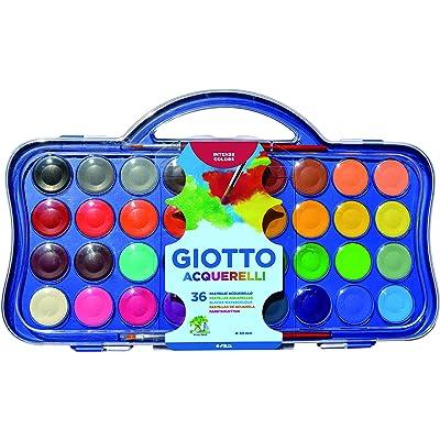 Giotto- Acuarelas, Multicolor (F353600)